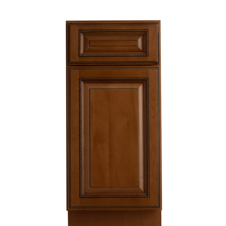 Nutmeg twist ready to assemble kitchen cabinets for Kitchen cabinets you assemble
