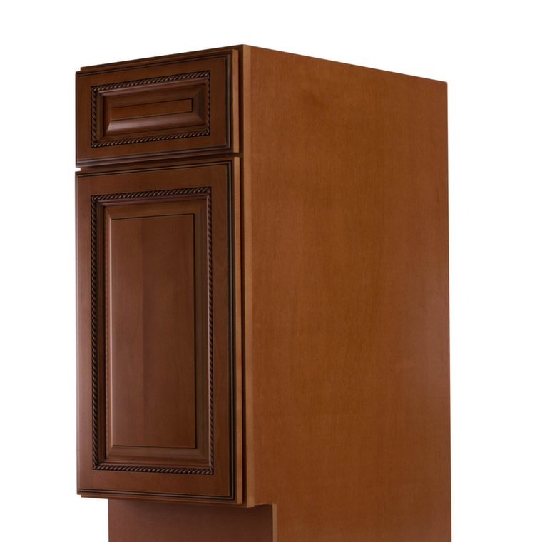 Nutmeg twist pre assembled kitchen cabinets the rta store for Pre assembled kitchen units