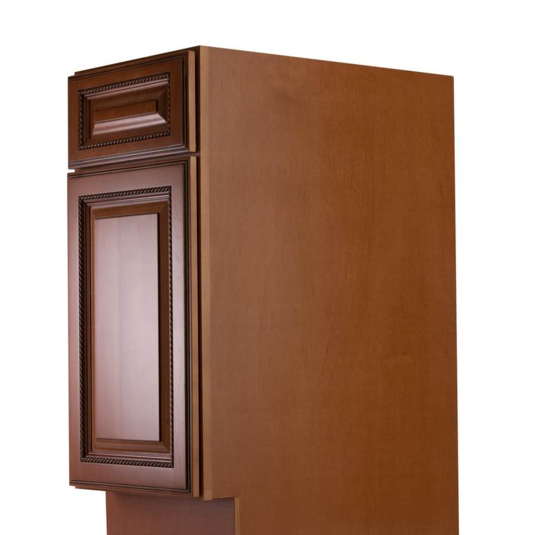 Nutmeg twist pre assembled kitchen cabinets the rta store for Already assembled kitchen cabinets