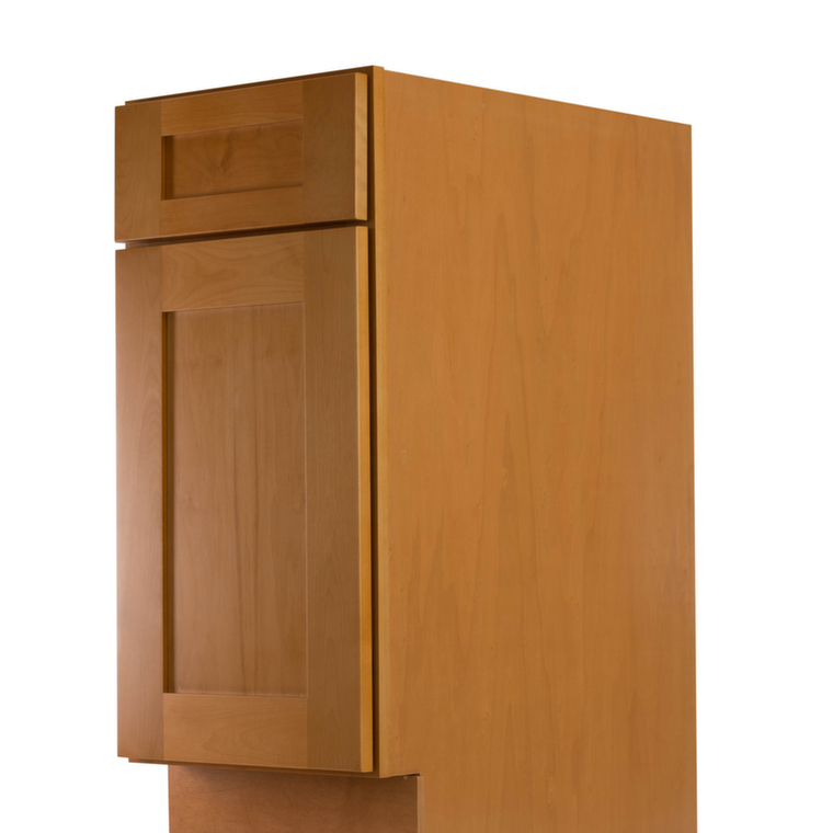 Shaker Honey Pre Assembled Kitchen Cabinets Kitchen Cabinets