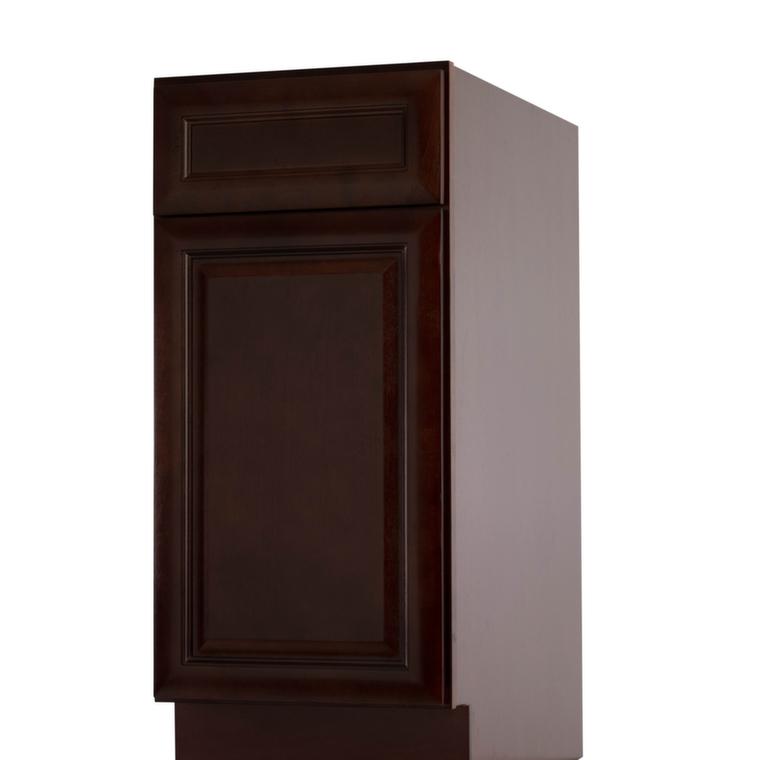 Regency pomegranate glaze pre assembled kitchen cabinet for Pre built kitchen cupboards