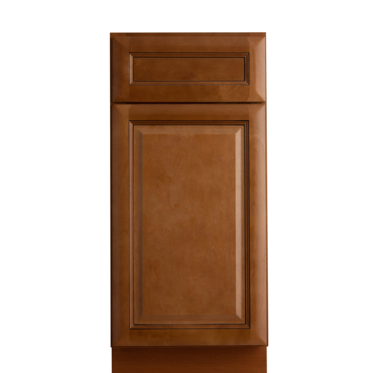 Fully assembled all plywood kitchen cabinets birch brandy for Assembled kitchen units