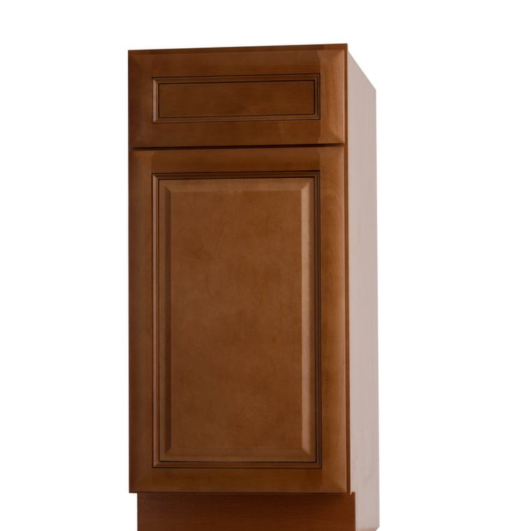 Pre assembled kitchen cabinets regency spiced glaze pre for Already made cabinets