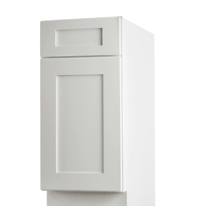 Aspen white shaker pre assembled kitchen cabinets for Pre assembled kitchen units