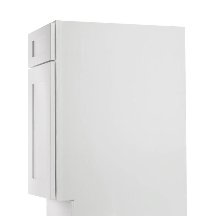 Aspen white shaker ready to assemble bathroom vanities for Bathroom cabinets ready assembled