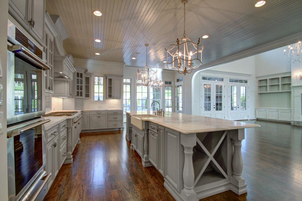 Roosevelt Dove Gray Semi Custom Pre Assembled Kitchen