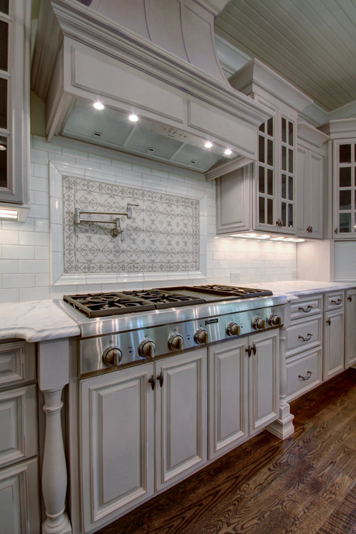 Roosevelt dove gray pre assembled kitchen cabinets the for Pre assembled kitchen units