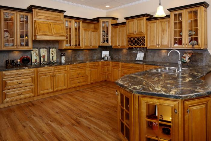Glazed praline ready to assemble kitchen cabinets for Ready to assemble kitchen cabinets
