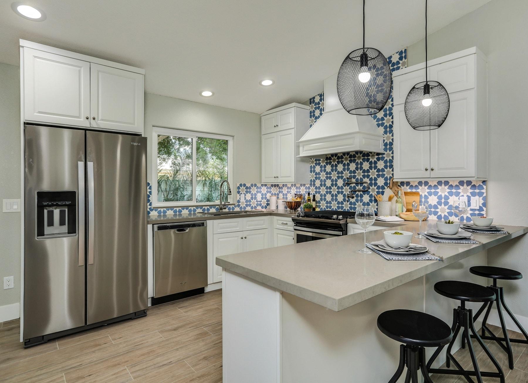 Dakota White RTA Kitchen Cabinets - The RTA Store