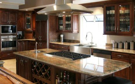 Java Maple Glaze Kitchen 1