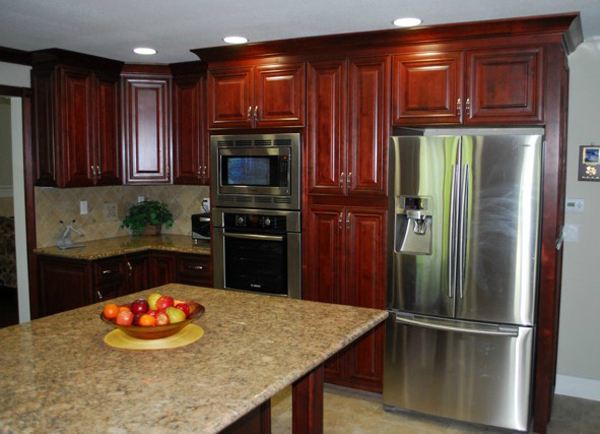 Cayenne Cognac Ready To Assemble Kitchen Cabinets Kitchen Cabinets