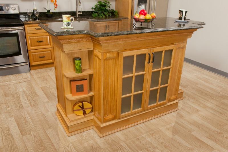 Harvest Oak Pre Assembled Kitchen Cabinets