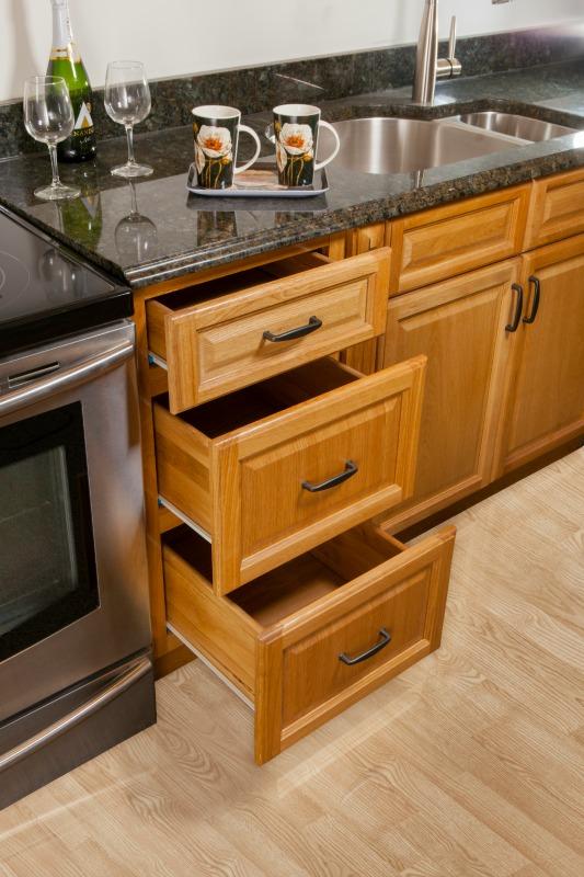 Harvest Oak - Ready To Assemble Kitchen Cabinets - Kitchen Cabinets