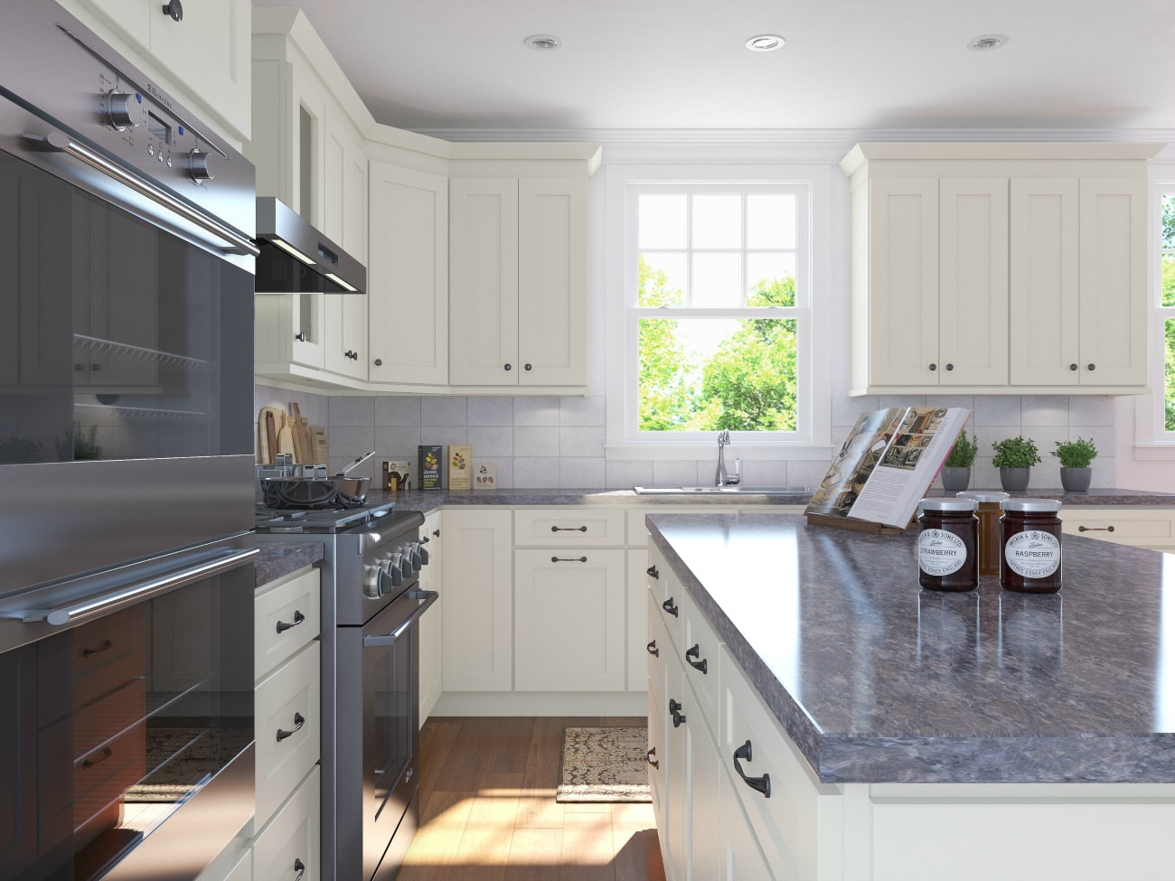 Linen Shaker RTA Kitchen Cabinets - The RTA Store