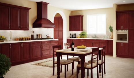 Regency Pomengranate Glaze Kitchen