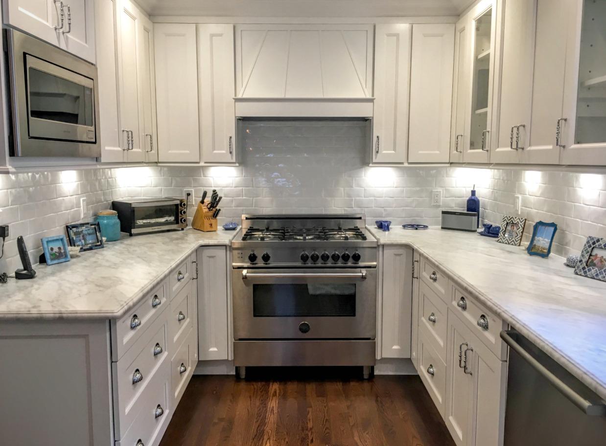 Newport White Pre Assembled Kitchen Cabinets The RTA Store