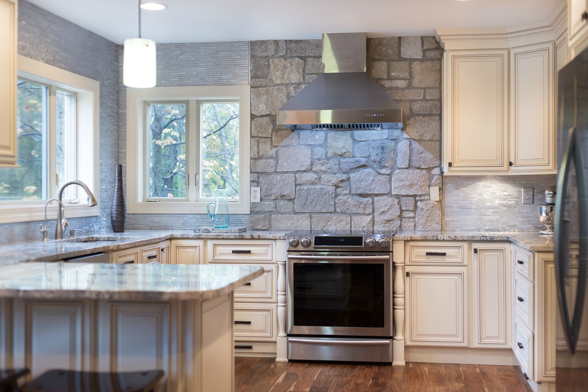 Vanilla Glaze Pre Assembled Kitchen Cabinets Kitchen Cabinets