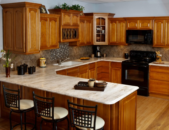 Rustic hickory kitchen cabinets quotes for Kitchen cabinets quotation