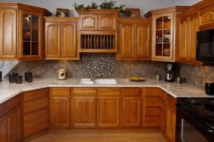 Rustic Hickory Kitchen 1