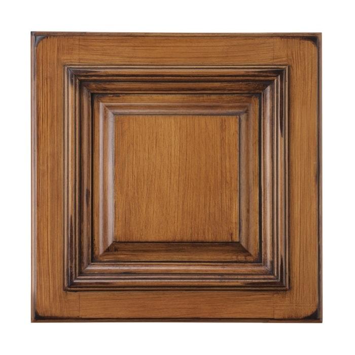 Roosevelt ginger vandyke distress pre assembled cabinets for Pre assembled cupboards