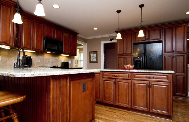 Roosevelt mocha pre assembled kitchen cabinets the rta store for Pre assembled kitchen units