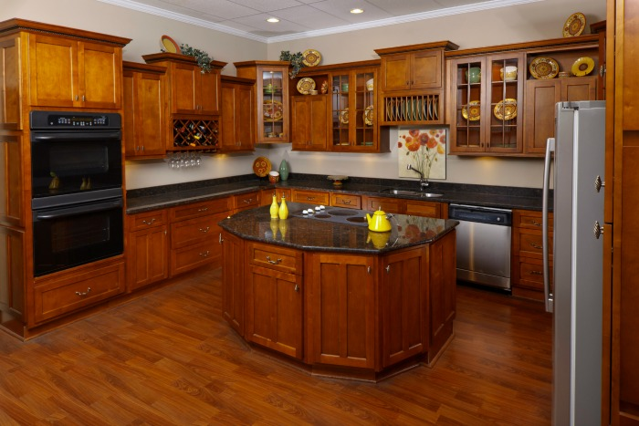 Shaker Cabernet Kitchen 1