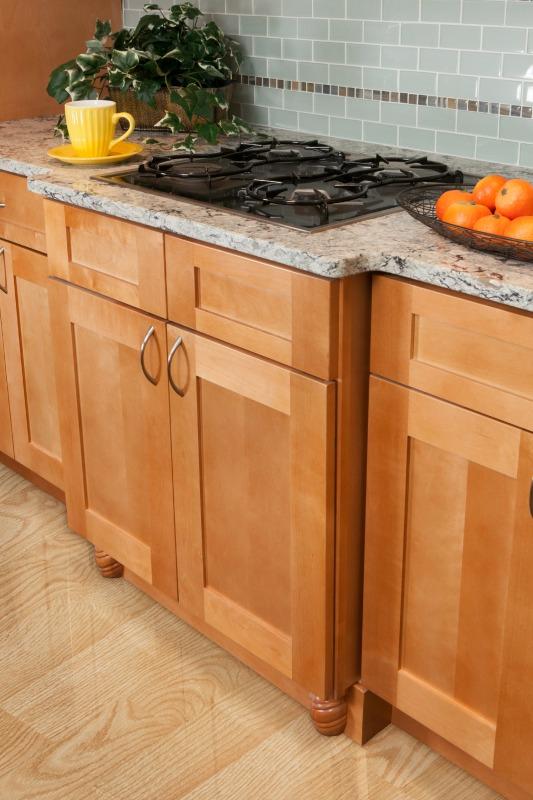 Shaker Honey Ready To Assemble Kitchen Cabinets