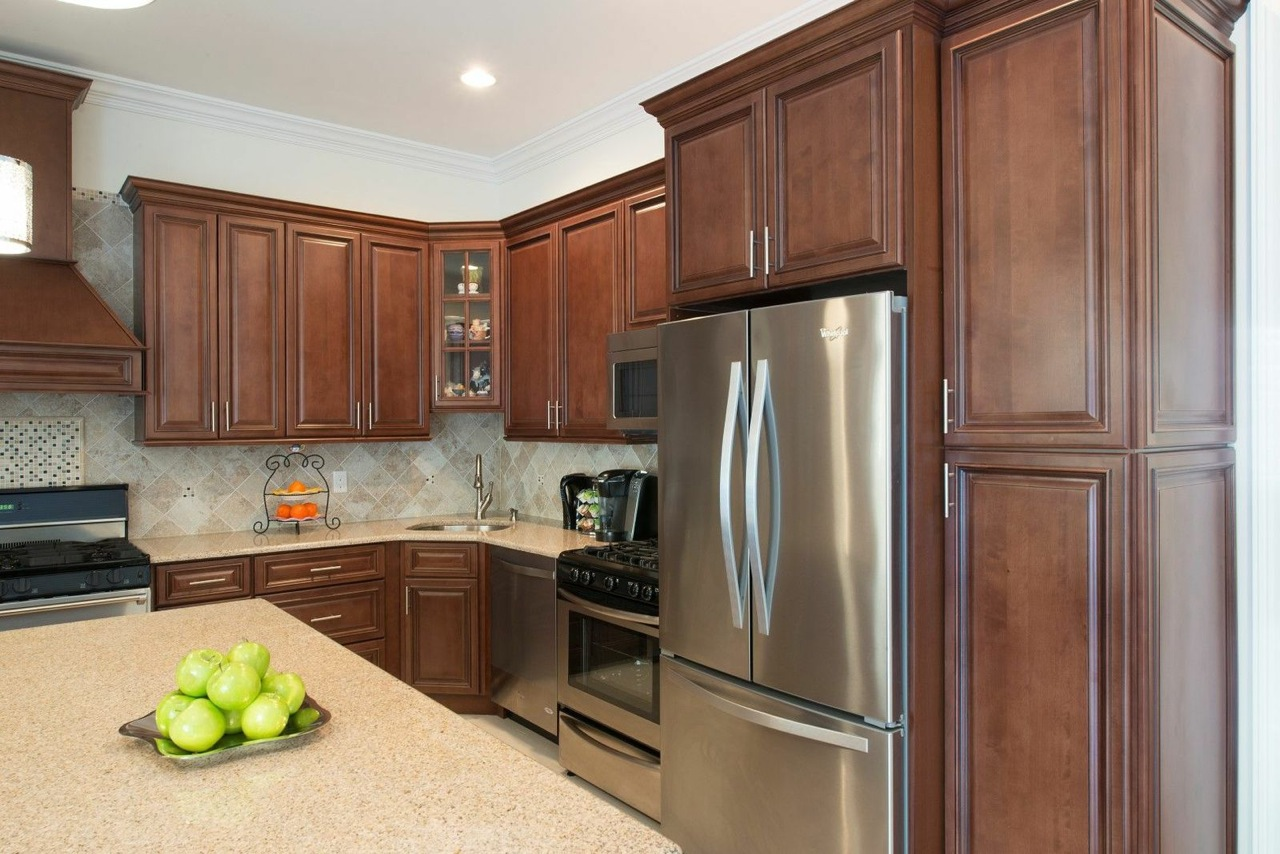 Signature Chocolate Pre Assembled Kitchen Cabinets The