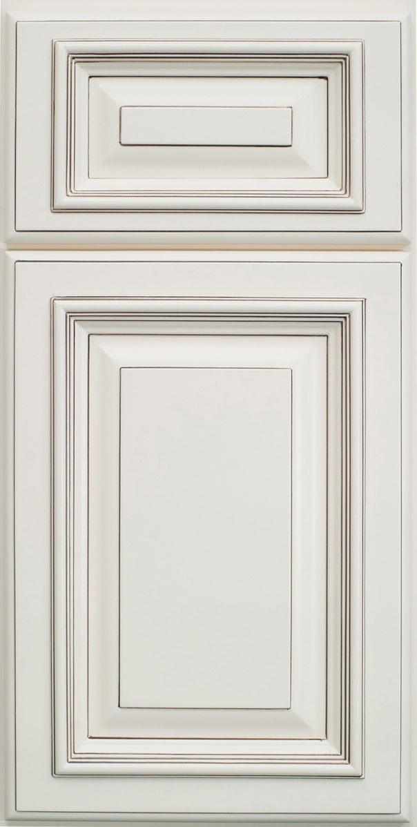 Signature vanilla glaze pre assembled kitchen cabinets for Pre assembled kitchen cabinets