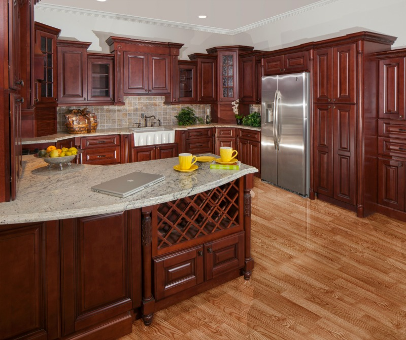 Interior Kitchen Cabinet Rta ready to assemble kitchen cabinets sonoma merlot rta cabinets
