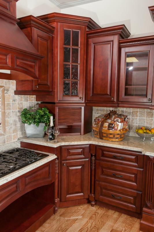 Sonoma Merlot Ready To Assemble Kitchen Cabinets Kitchen Cabinets