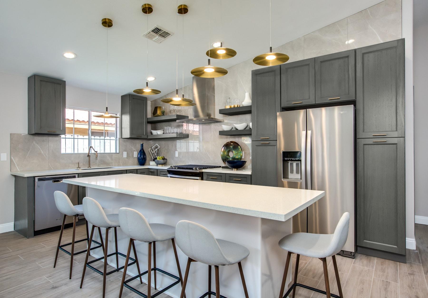 Providence Slate Grey - Ready To Assemble Kitchen Cabinets ...