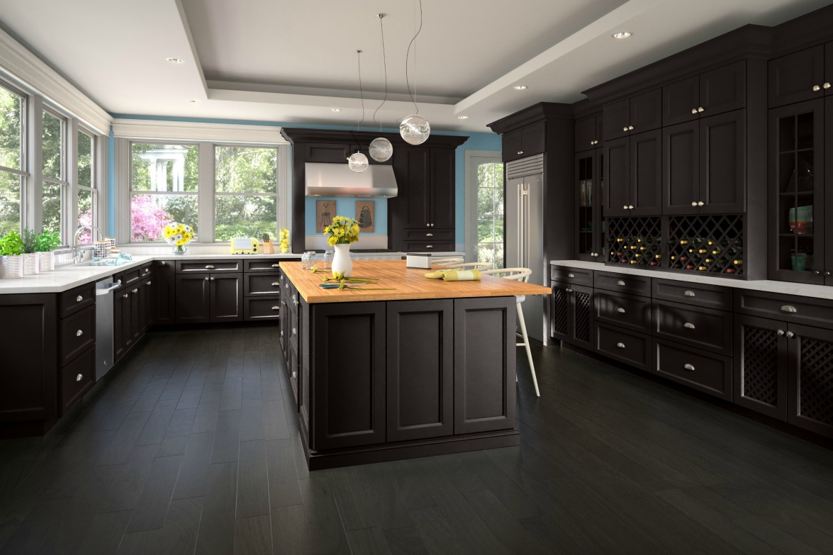 Newport Kitchen Cabinets newport espresso - ready to assemble kitchen cabinets - kitchen
