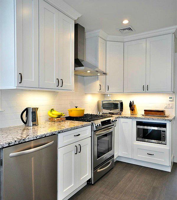 White For Kitchen Cabinets: Aspen White Shaker Pre-Assembled Kitchen Cabinet