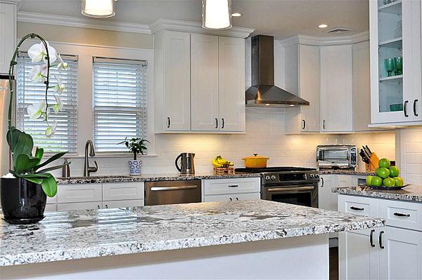 Aspen White Shaker Pre Assembled Kitchen Cabinets Kitchen Cabinets