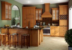 Regency Ginger Pre-Assembled Kitchen Cabinets