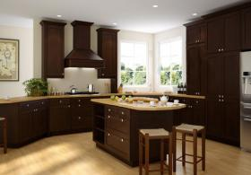 Brazilian Shaker Pre-Assembled Kitchen Cabinets