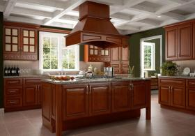 Nutmeg Twist Pre-Assembled Kitchen Cabinets