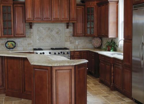 Nutmeg Twist Pre-Assembled Kitchen Cabinets