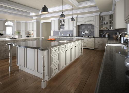 Signature Vanilla Pre-Assembled Kitchen Cabinets