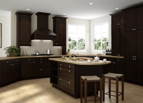 Brazilian Shaker Pre-Assembled Kitchen Cabinets