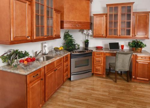 Regency Spiced Glaze Pre-Assembled Kitchen Cabinets