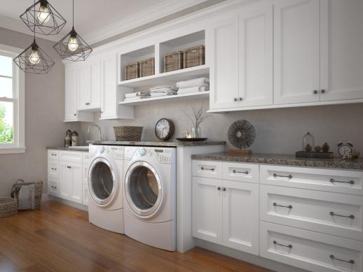 Laundry Room Cabinets, White Wall Cabinets For Laundry Room