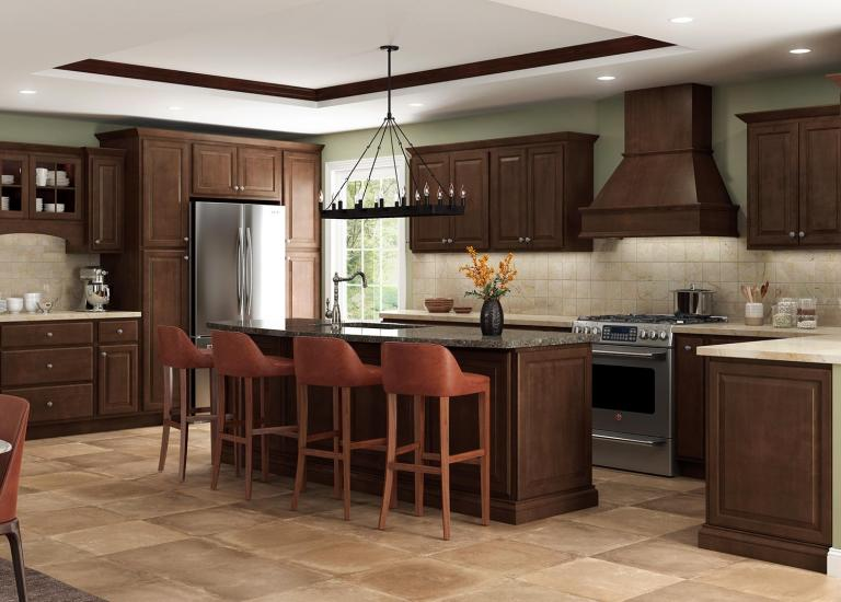 Traditional Pre-Assembled Cabinetry (14 finishes available)