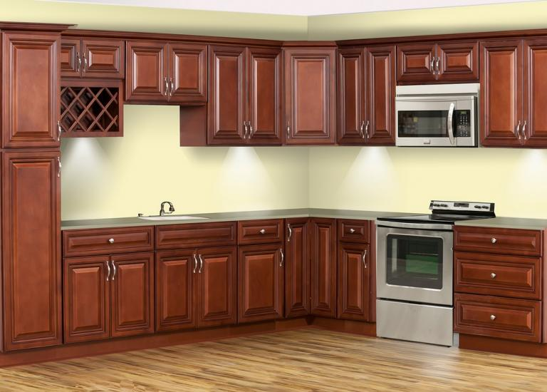 Executive Cherry RTA Kitchen Cabinets