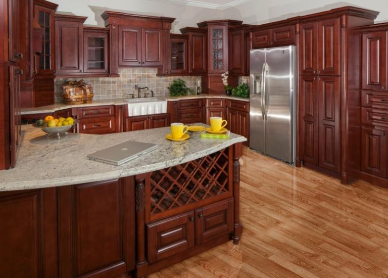 Cabinet Kitchen. Newberry Merlot Pre Assembled Kitchen Cabinets  The RTA Store