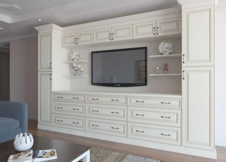 Cambridge Antique White RTA Cabinets