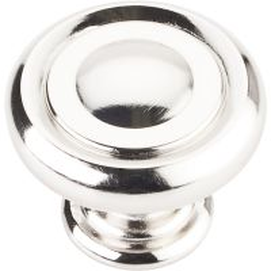 "Jeffrey Alexander By Hardware Resource - Bremen 1 Collection - 1.25"" Diameter in Polished Nickel"