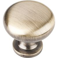 """Elements By Hardware Resource - Madison Collection Pulls - 1.1875"""" Diameter in Brushed Antique Brass"""