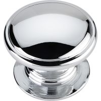 "Jeffrey Alexander By Hardware Resource - Durham Collection - 1.25"" Diameter in  Polished Chrome"